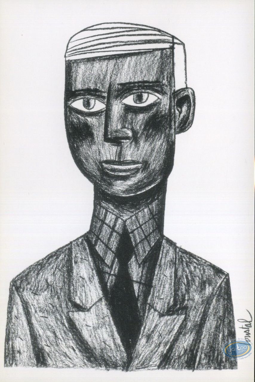 Post Card, Charcoal