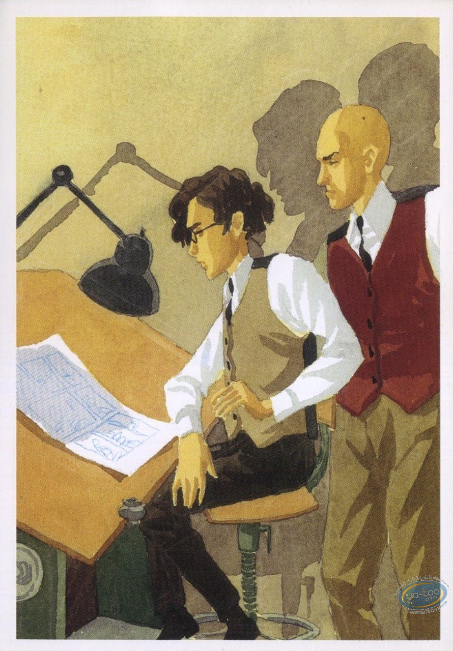 Post Card, Oscar et Monsieur O : Oscar and Sir O