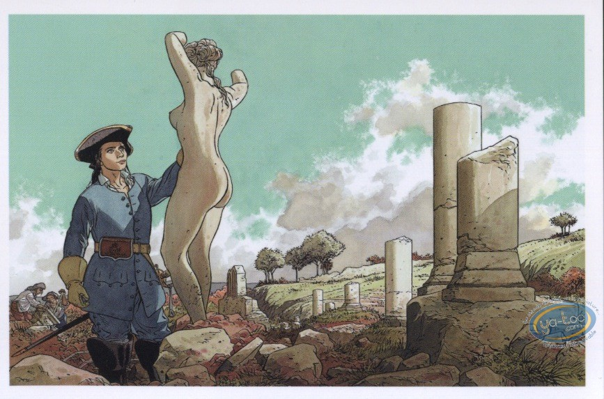 Post Card, Rencontres : Officer - sculptor