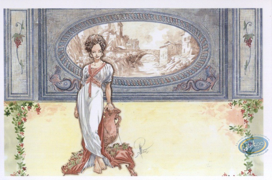 Post Card, Rencontres : Woman of the antiquity