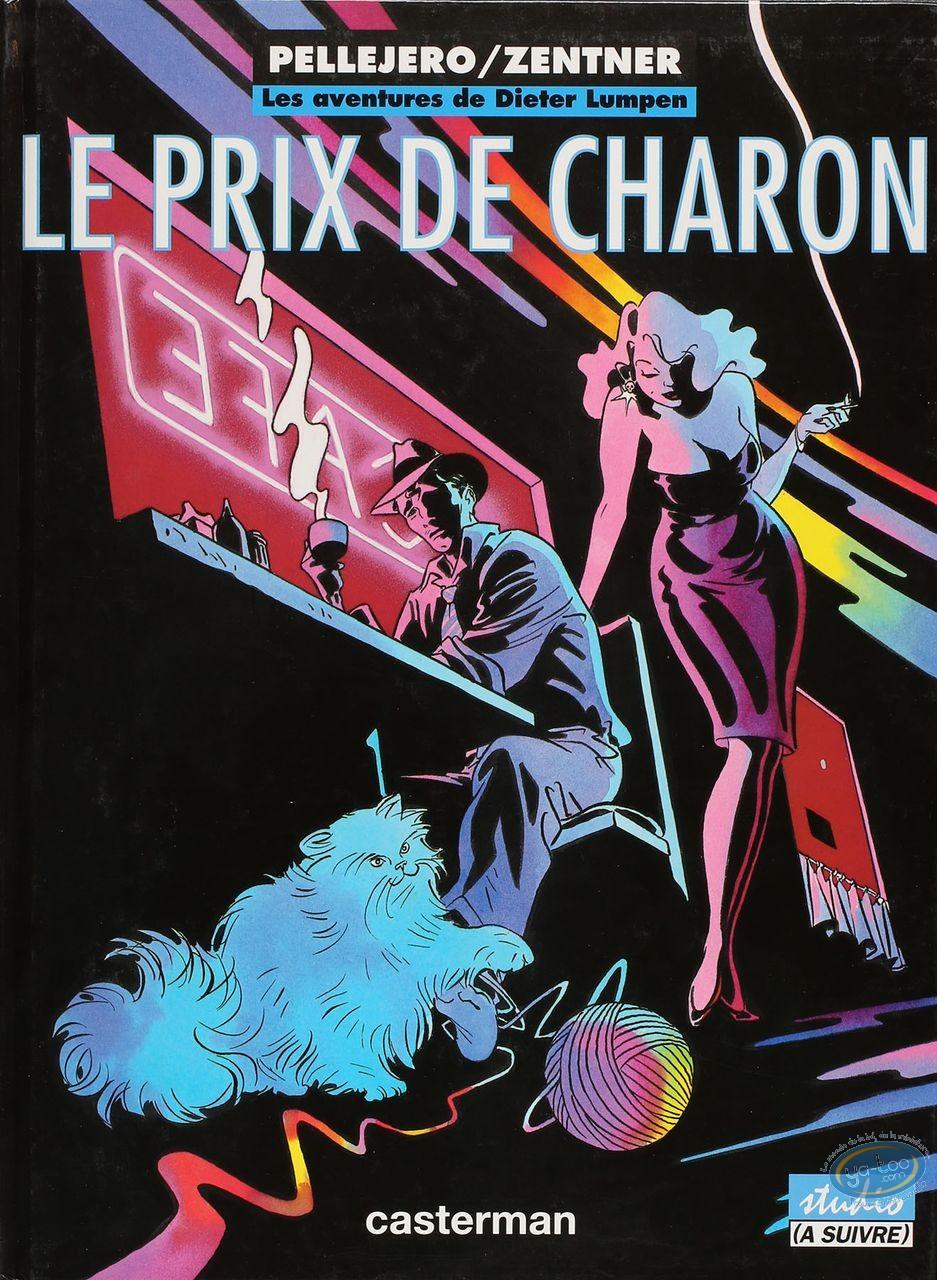 Listed European Comic Books, Dieter Lumpen : Le prix de Charon (very good condition)