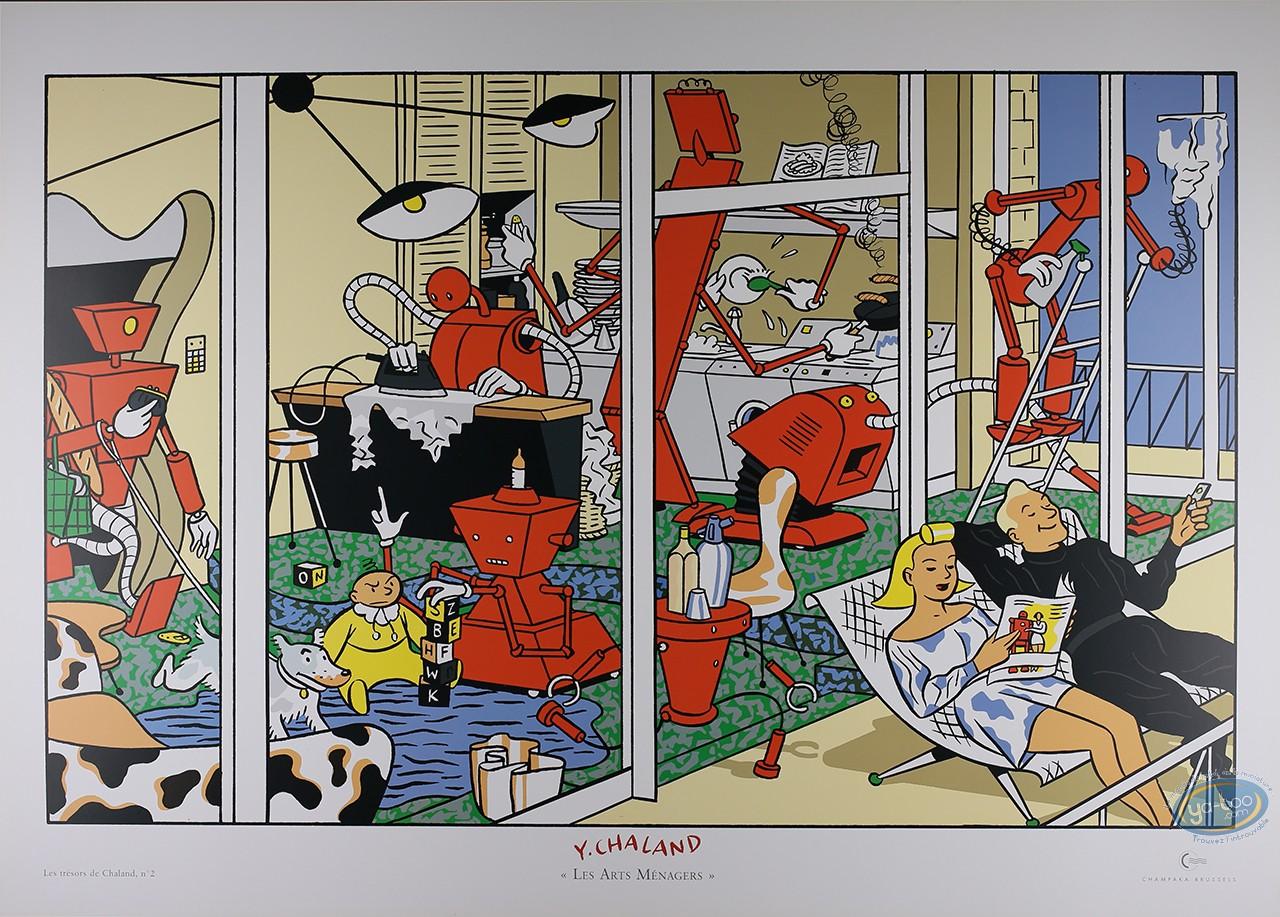 Offset Print, Chaland : Les Arts Menagers