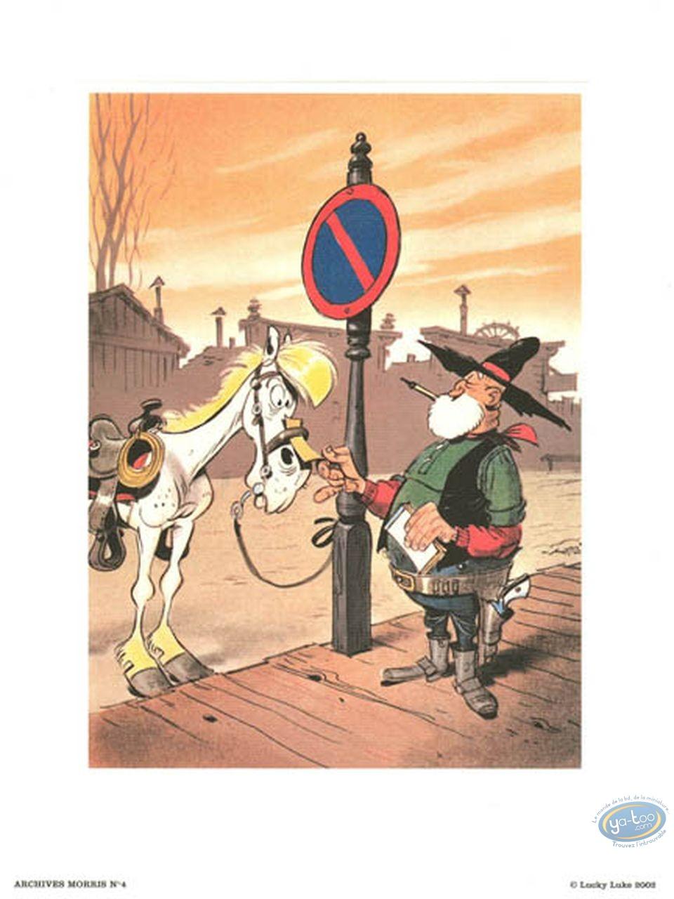 Offset Print, Lucky Luke : The Judge