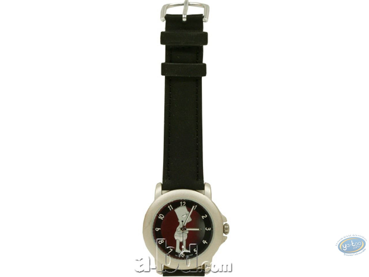 Clocks & Watches, Simpson (Les) : Watch, The Simpsons : Bart underwear (leather strap)