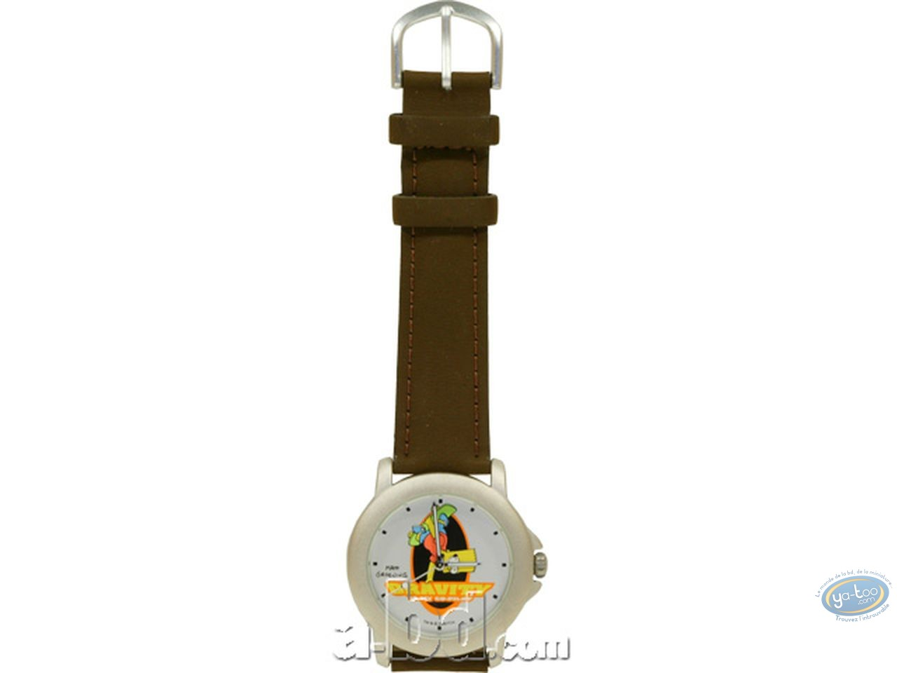 Clocks & Watches, Simpson (Les) : Watch, The Simpsons : Bart skate (leather strap)