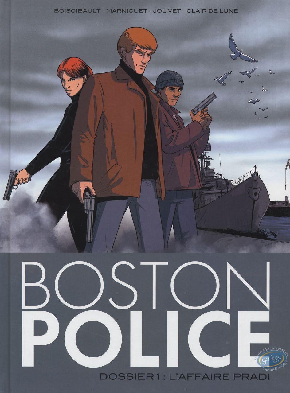 Used European Comic Books, Boston Police : T1 - L'affaire Pradi