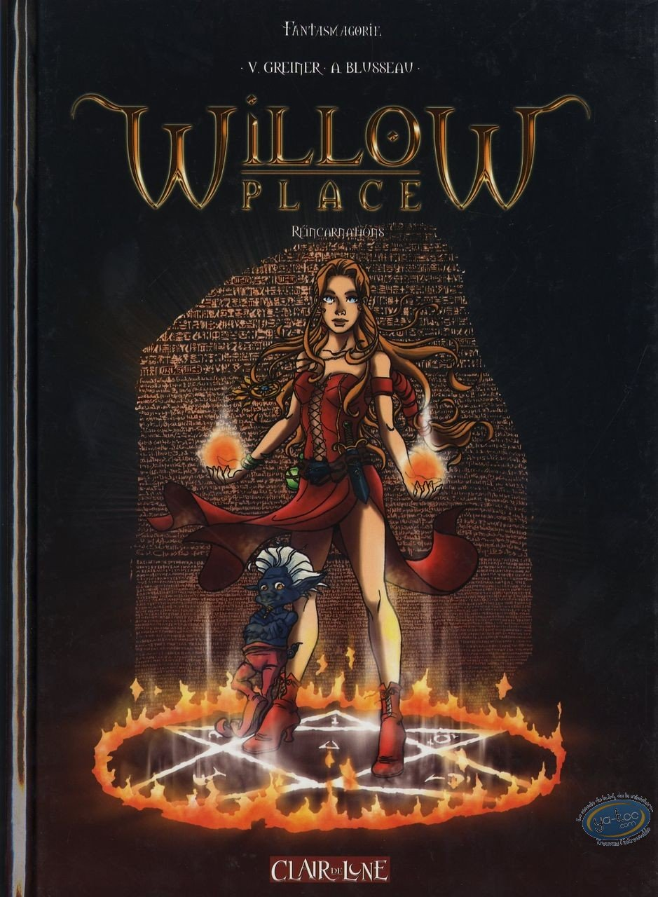 Reduced price European comic books, Willow Place : Willow Place