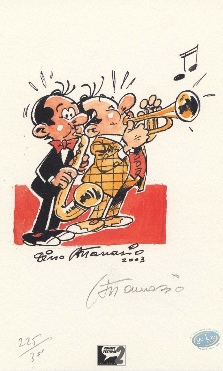 Bookplate Offset, Spaghetti : Jazzmen