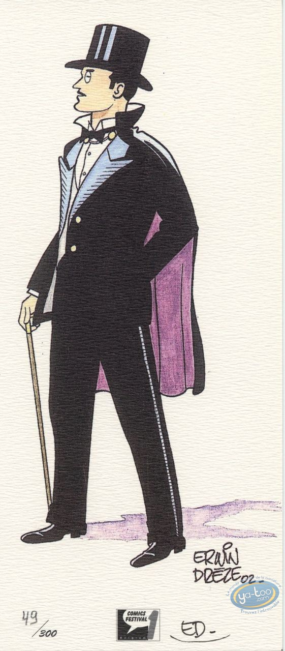 Bookplate Offset, Arsène Lupin : Arsene Lupin
