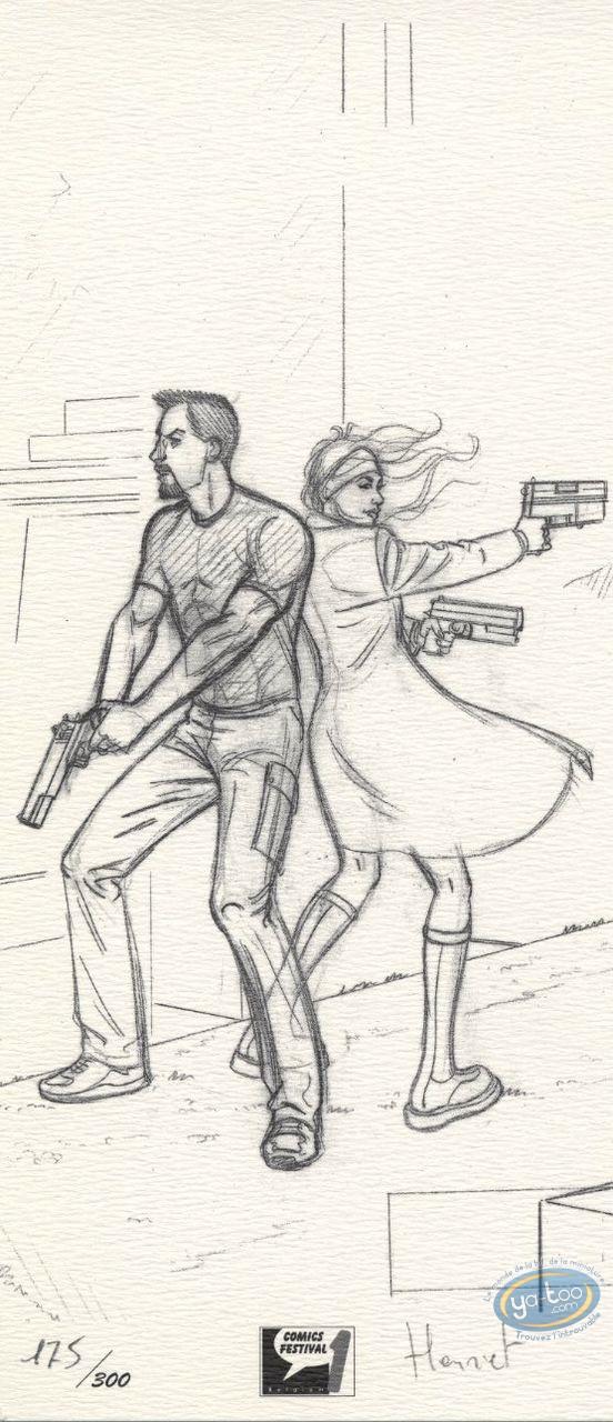 Bookplate Offset, John Doe : Back to Back (sketch)