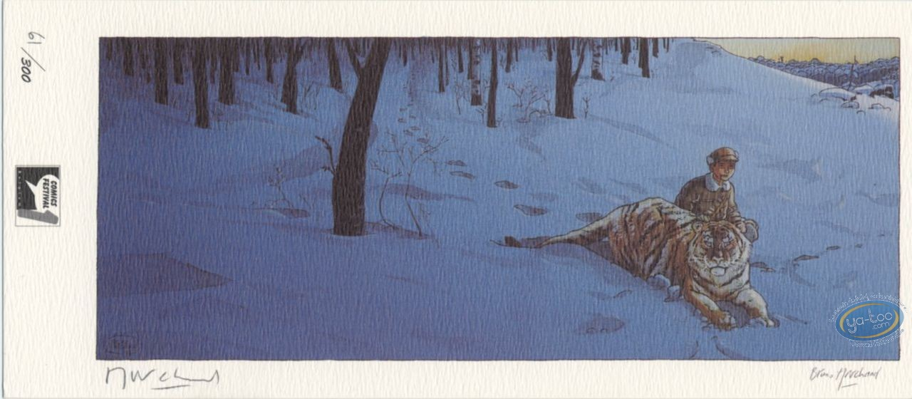 Bookplate Offset, Little Nemo : Tiger in the Snow