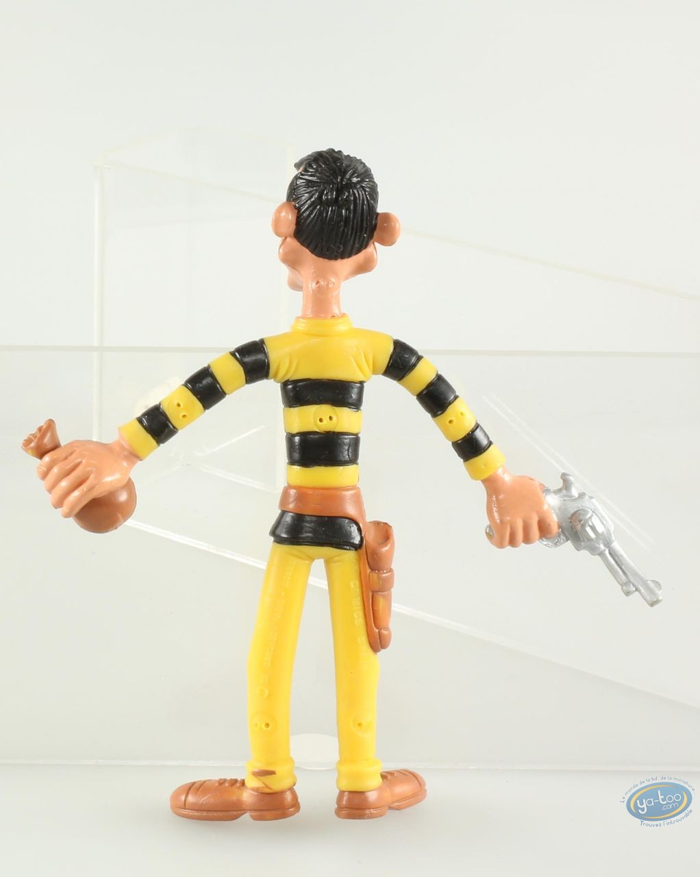 Plastic Figurine, Lucky Luke : Avrell Dalton (big sixe flexible)
