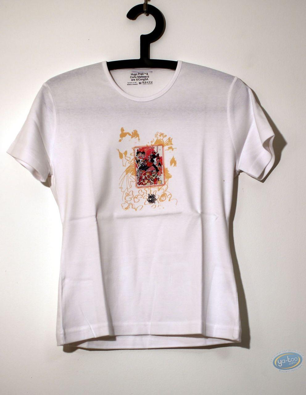 Clothes, Corto Maltese : T-shirt, Corto Maltese : Lady 01/01 Flamenco size M