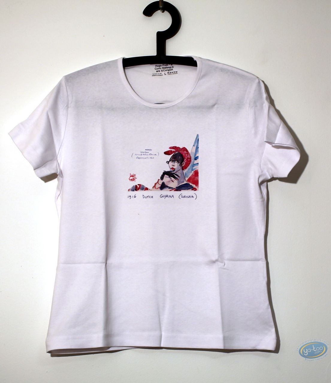 Clothes, Corto Maltese : T-shirt, Corto Maltese : Lady 05/03 Mambo size M