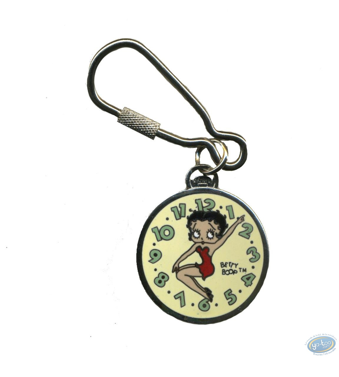 Metal Keyring, Betty Boop : Door-key Betty Boop