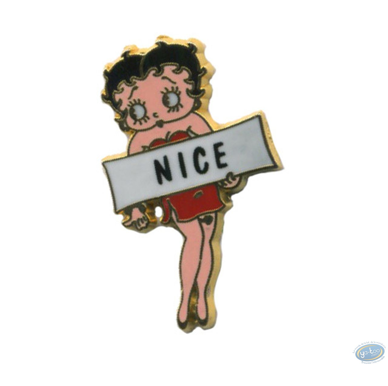Pin's, Betty Boop : Betty hitch-hiker 'Nice'