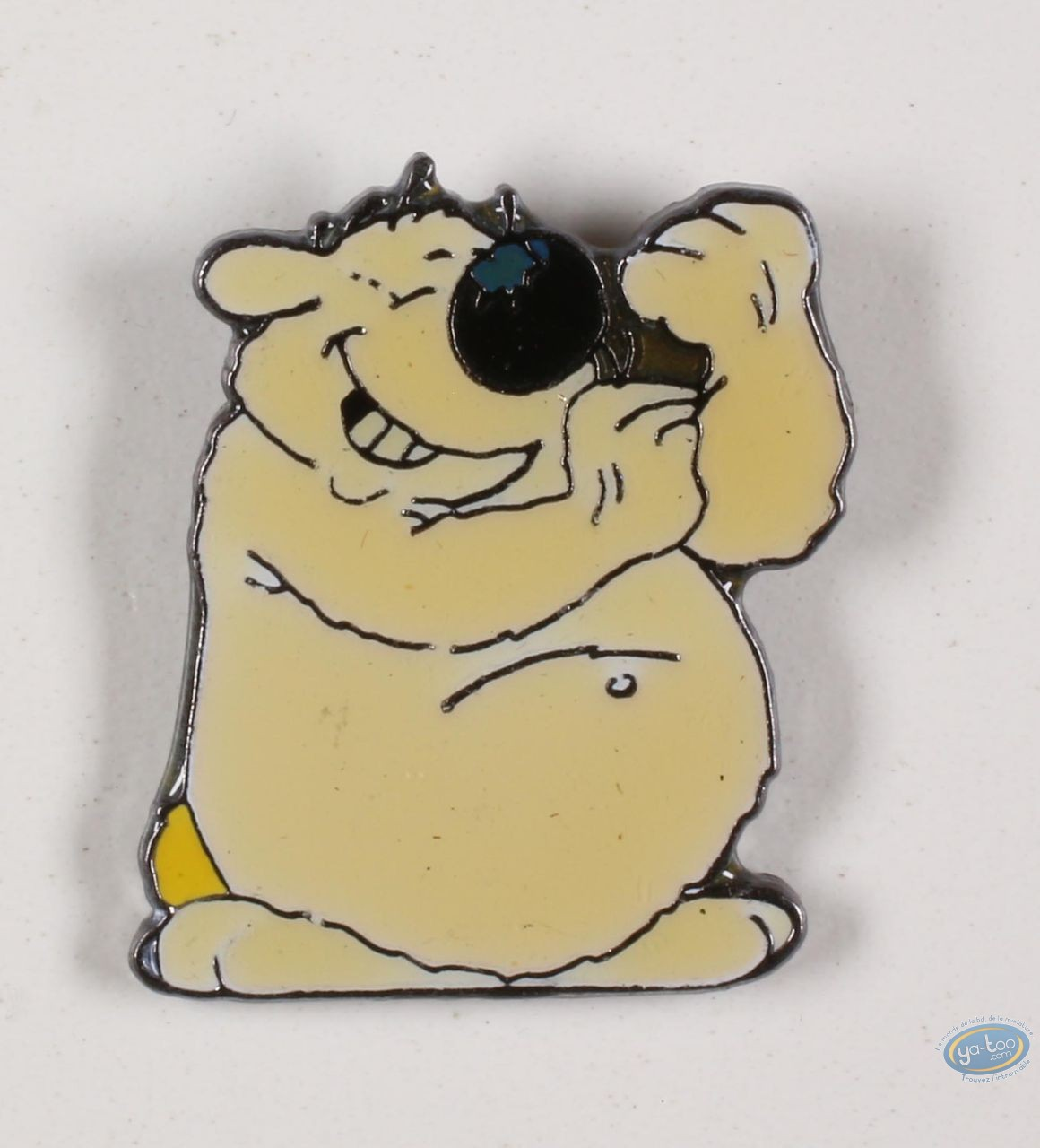 Pin's, Cubitus : Cubitus fmakes someone the finger