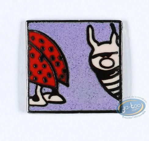 Pin's, Rubrique à Brac : Gotlib, The ladybug head and ass