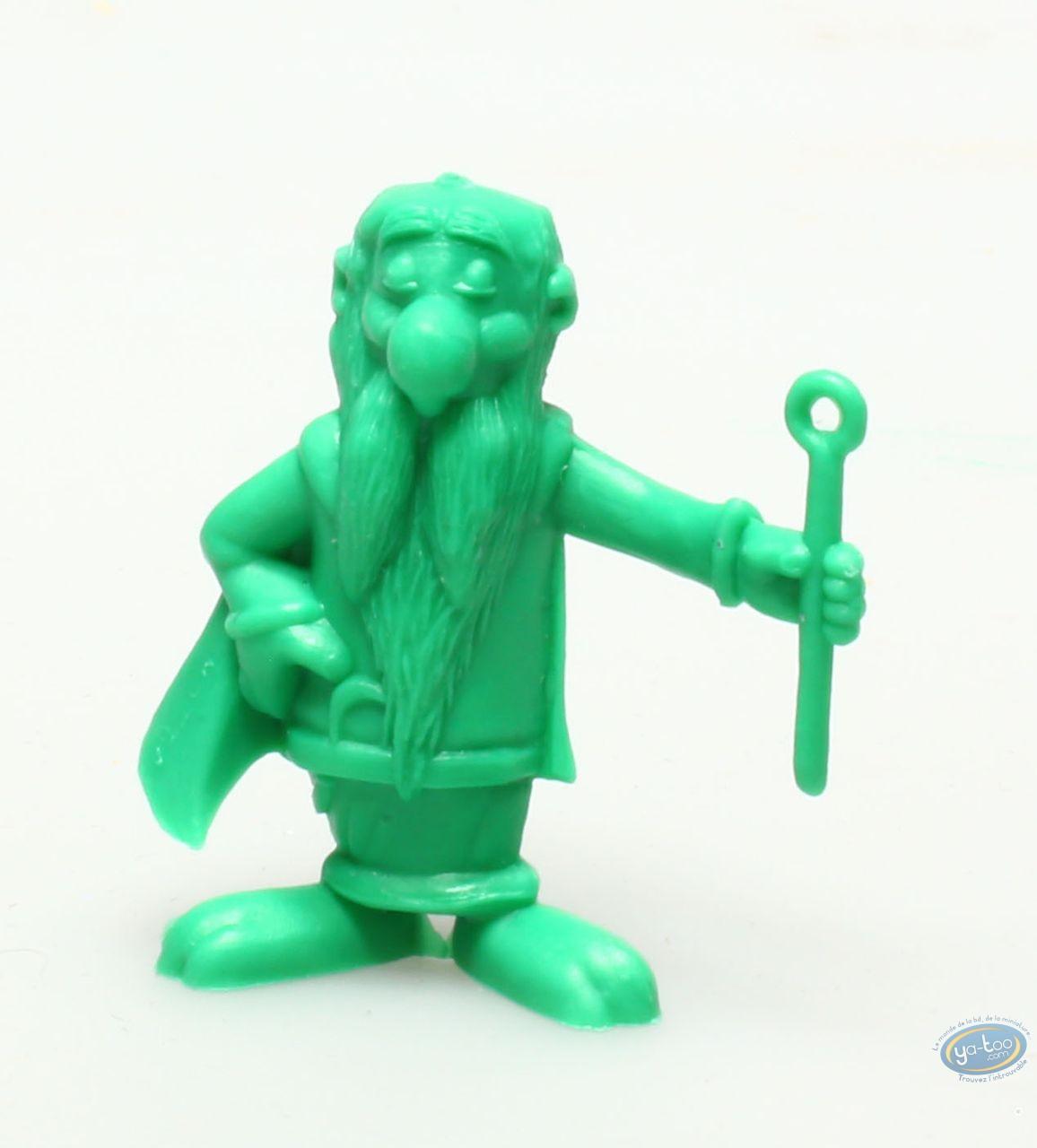 Plastic Figurine, Astérix : Mini Getafix (dark green)