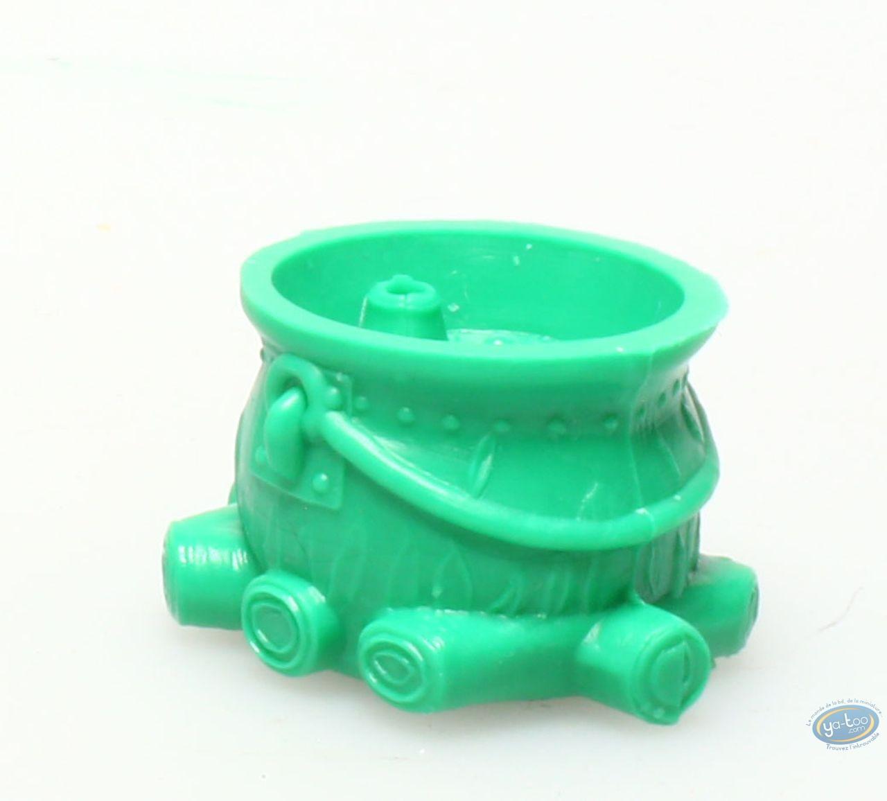 Plastic Figurine, Astérix : Mini Getafix' Cauldron (dark green)