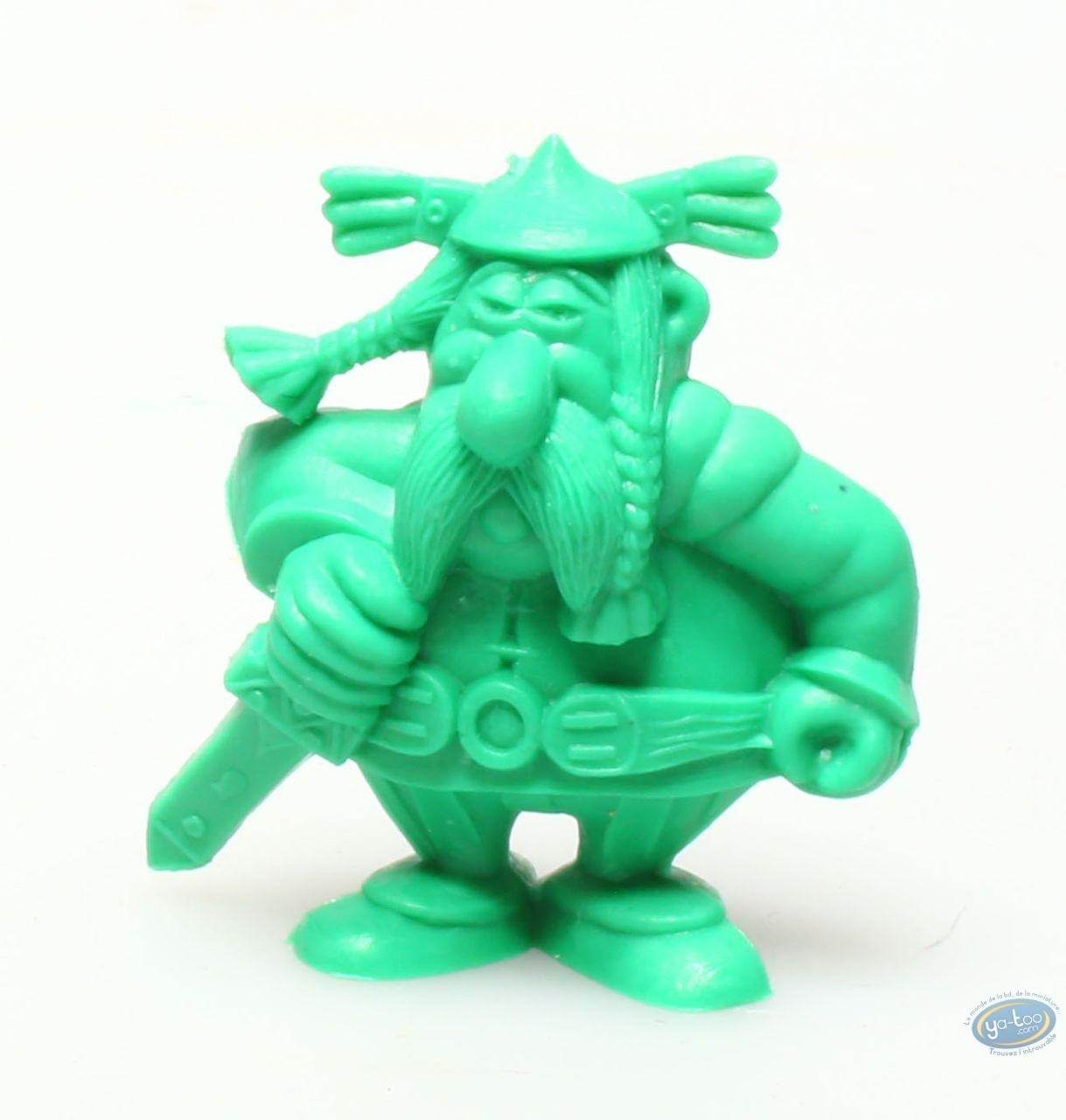 Plastic Figurine, Astérix : Mini Vitalstatistix (dark green)