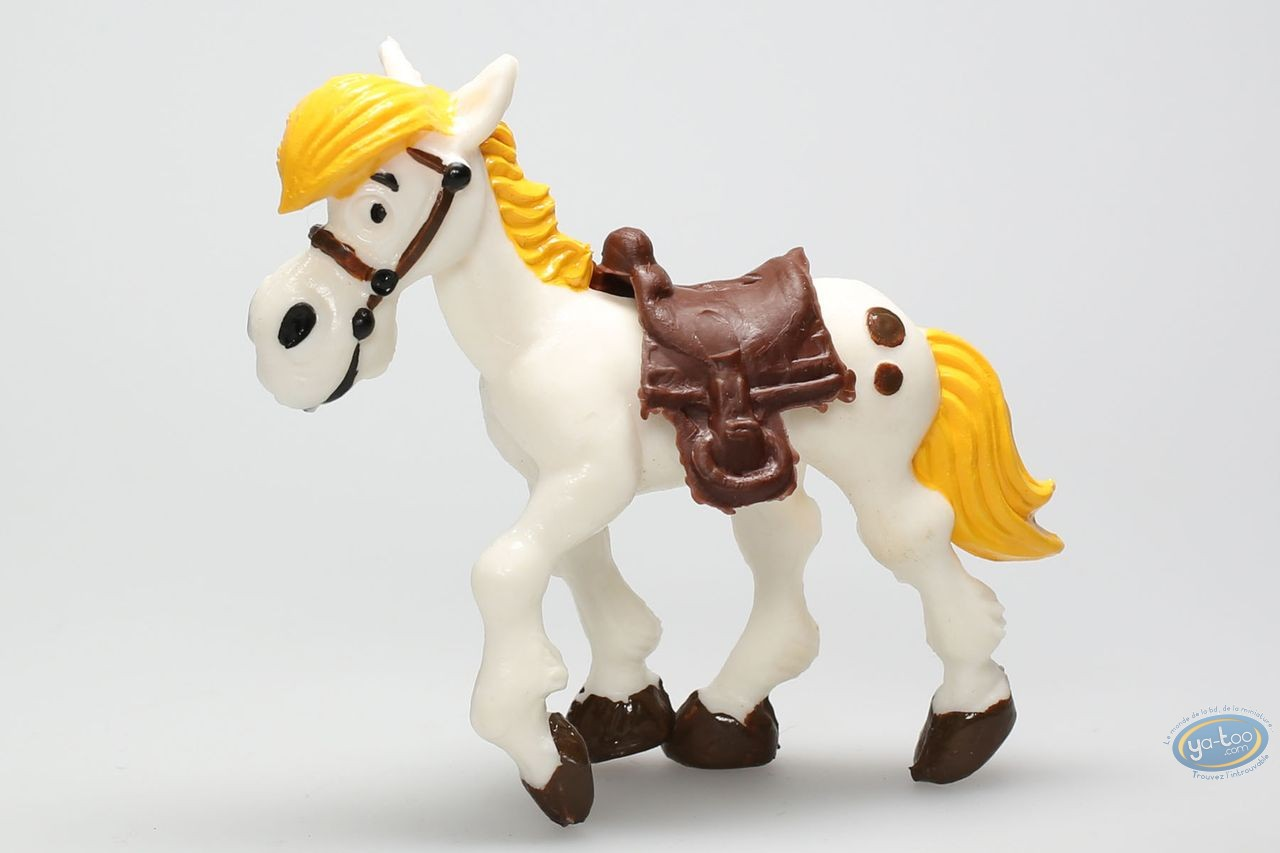 Plastic Figurine, Lucky Luke : Jolly Jumper walking