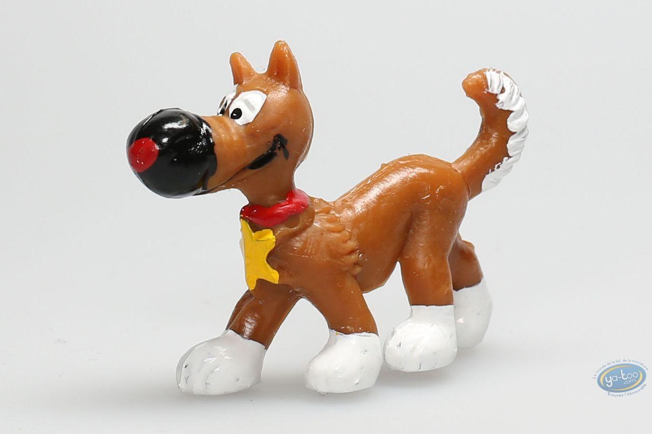 Plastic Figurine, Lucky Luke : Rantanplan walking