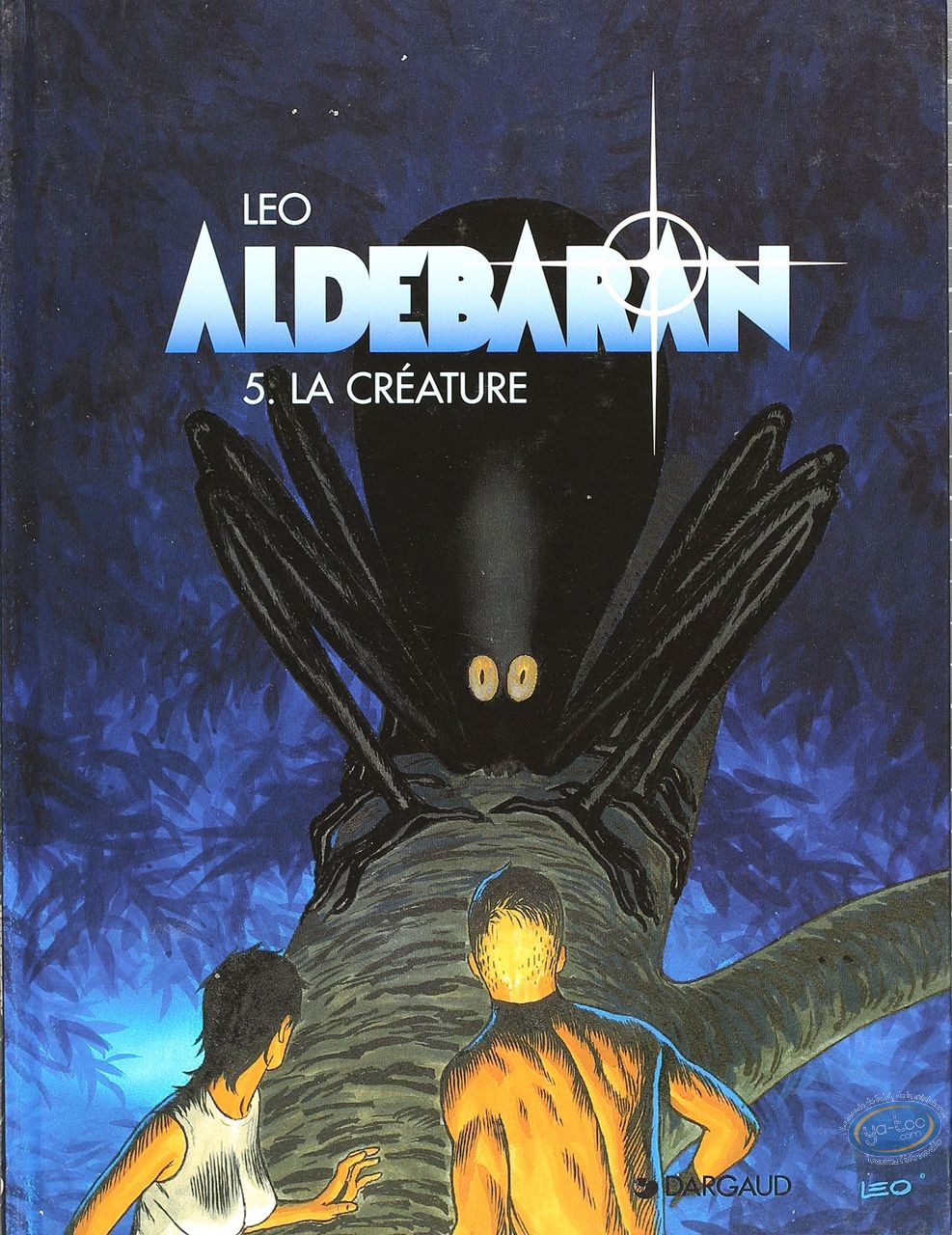 Listed European Comic Books, Aldebaran : La Creature