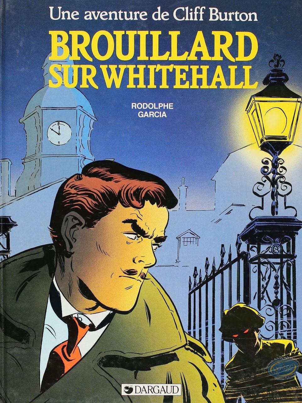 Listed European Comic Books, Cliff Burton : Brouillard sur Whitehall