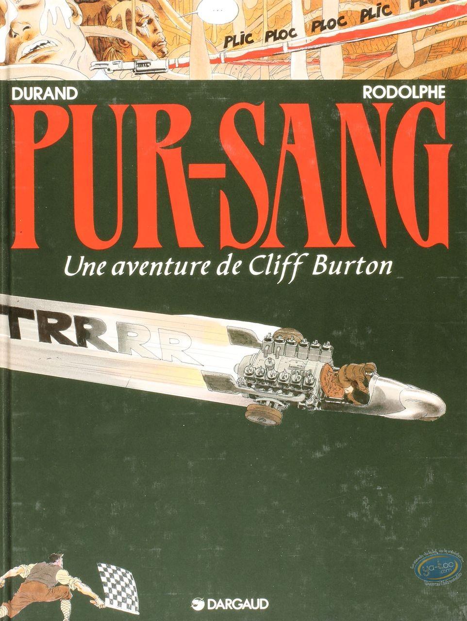 Listed European Comic Books, Cliff Burton : Pur-Sang