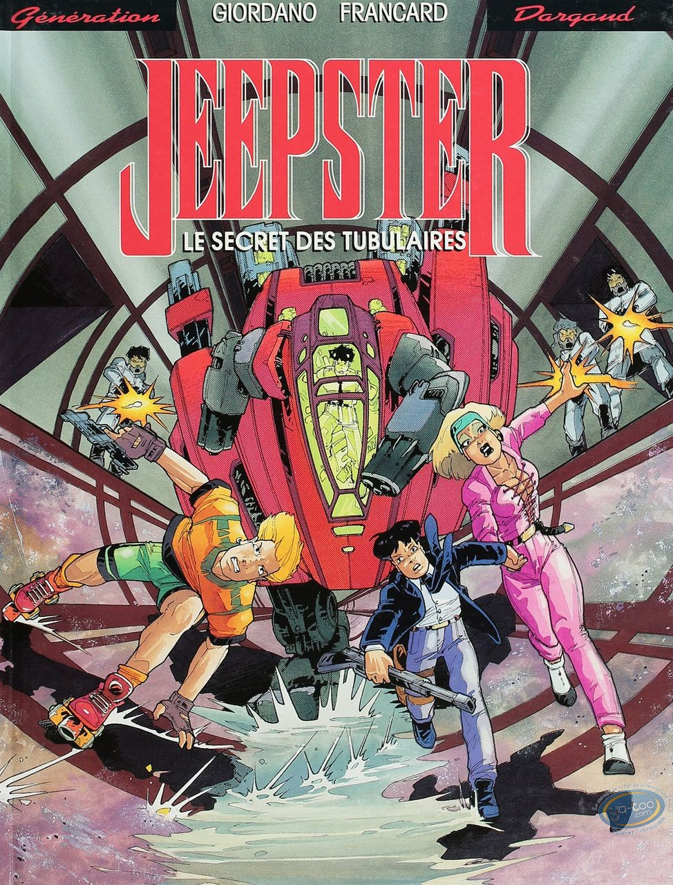 Listed European Comic Books, Jeepster : Le secret des tubulaires