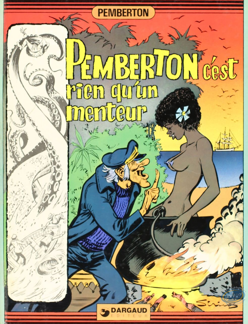 Listed European Comic Books, Pemberton : Pemberton c'est rien qu'un menteur (very good condition)