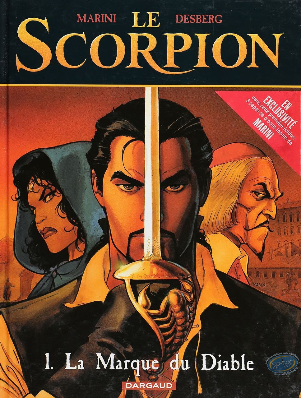Listed European Comic Books, Scorpion (Le) : La Marque du Diable (very good condition)