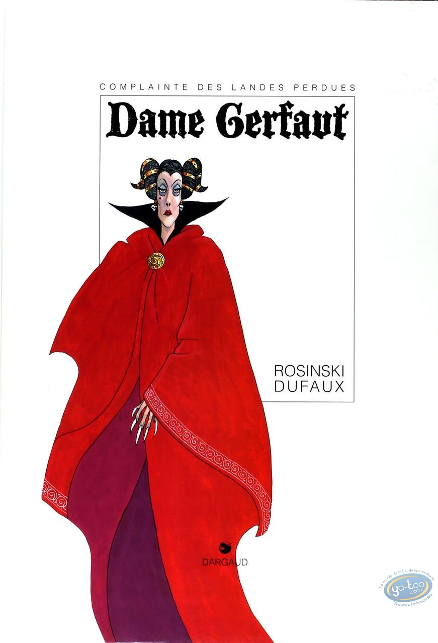 Limited First Edition, Complainte des Landes Perdues (La) : Dame Gerfaut