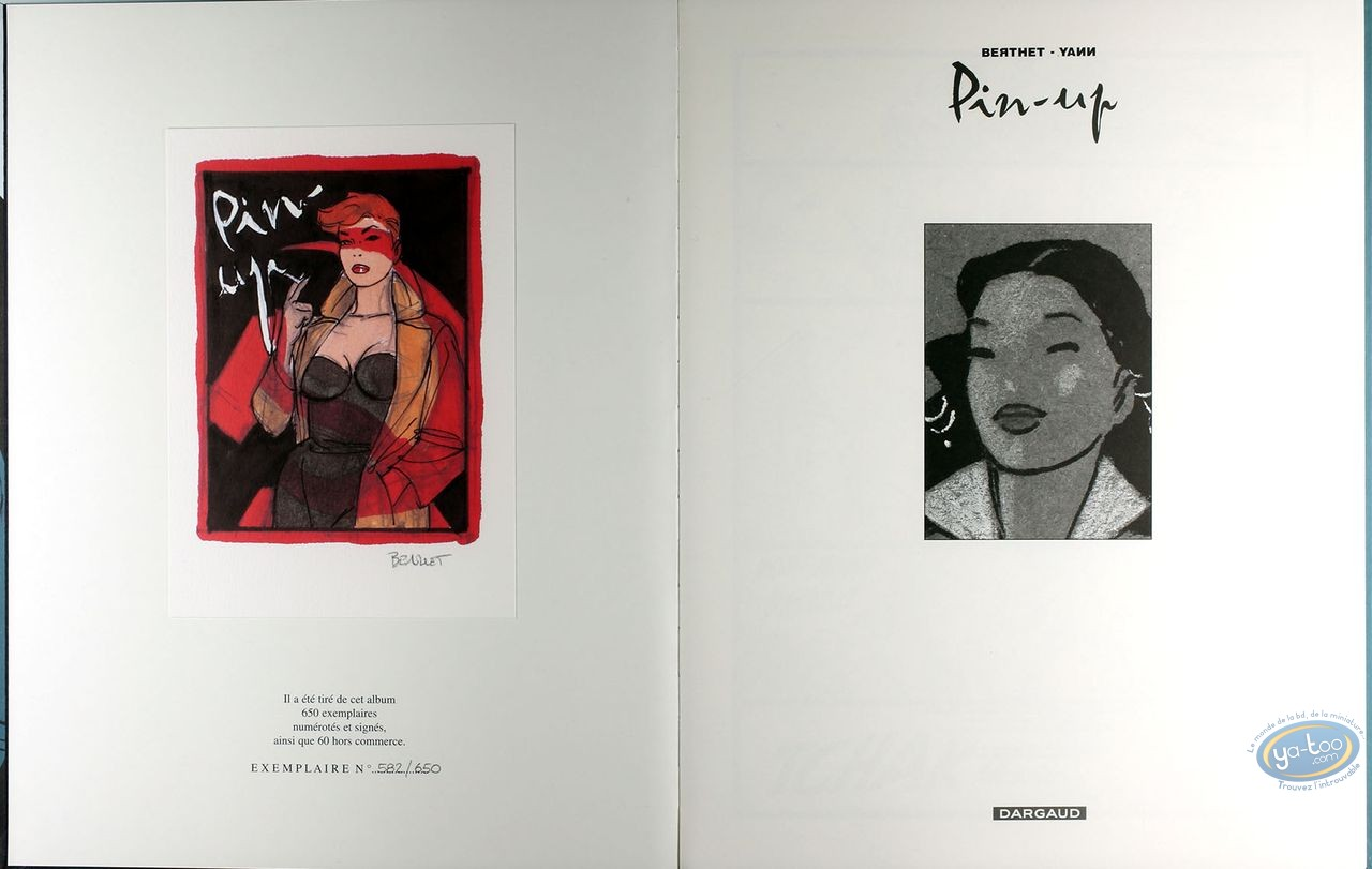 Limited First Edition, Pin-Up : Pin-up