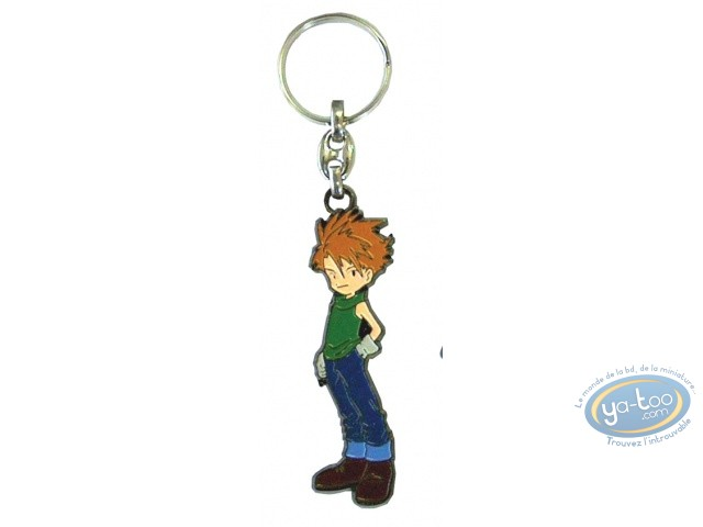 Metal Keyring, Digimon : Metal Key ring, Digimon : Matt