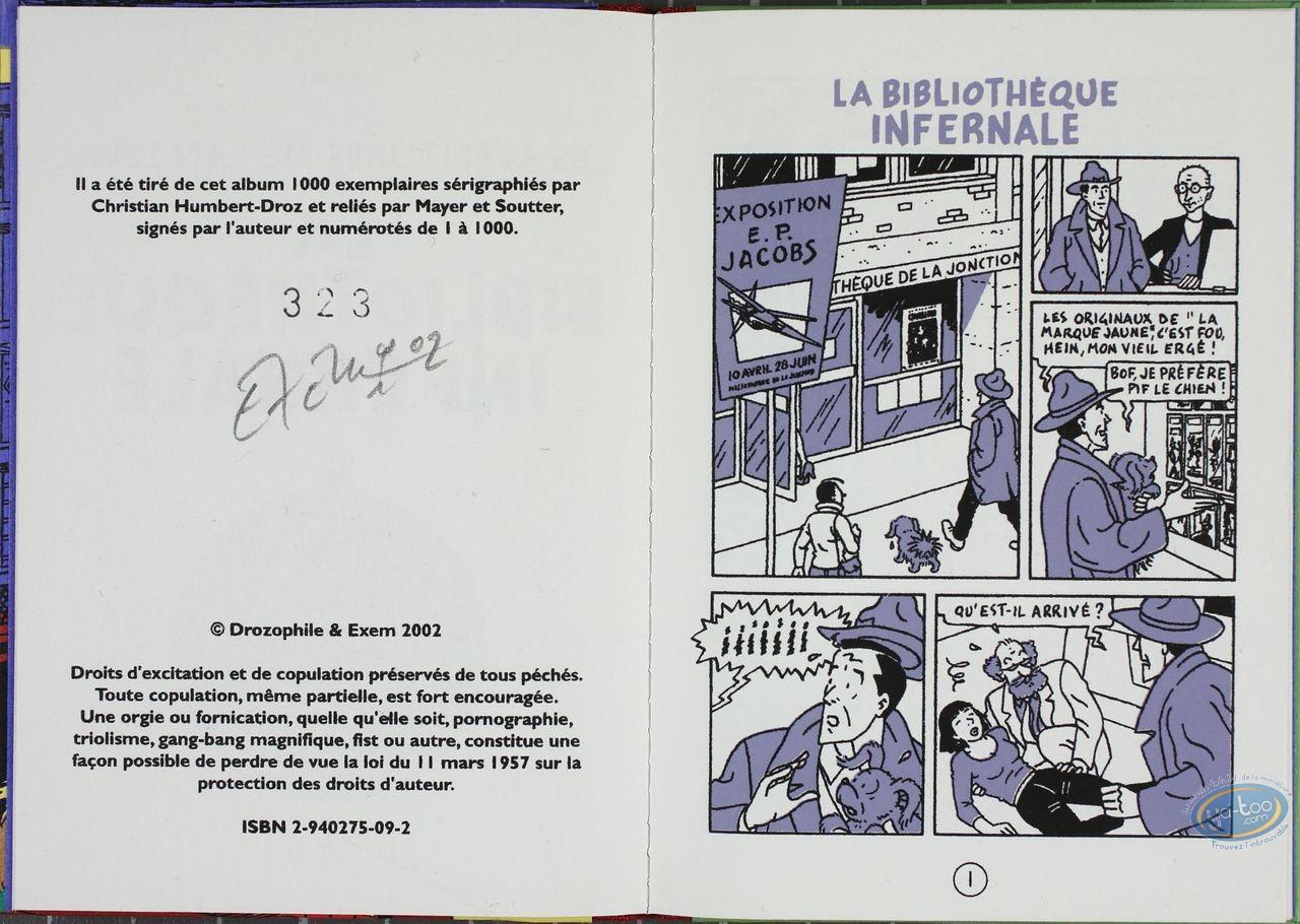 Listed European Comic Books, Lanceval : La Bibliotheque Infernale