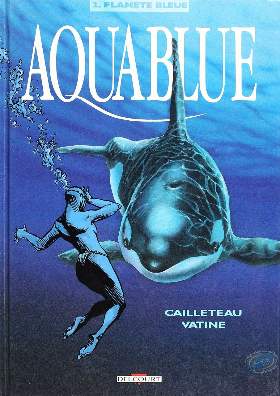 Listed European Comic Books, Aquablue : Planete Bleue
