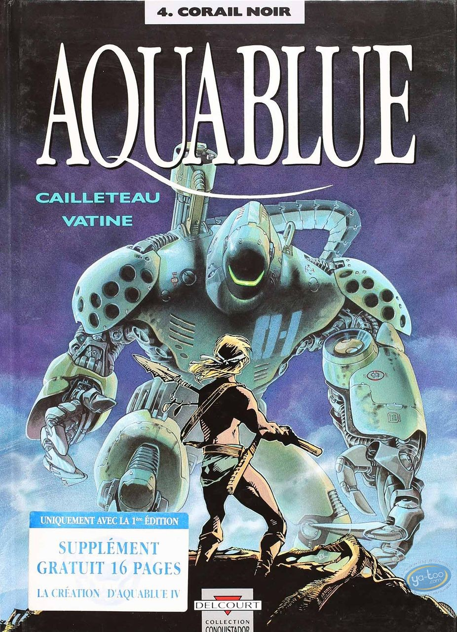 Listed European Comic Books, Aquablue : Corail Noir