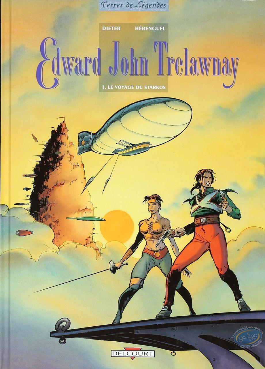 Listed European Comic Books, Edward John Trelawnay : Le Voyage du Starkos  (very good condition)