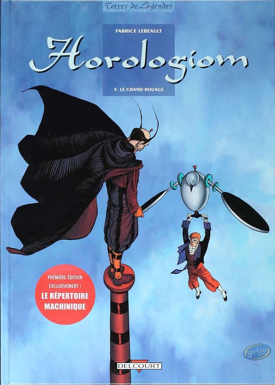 Listed European Comic Books, Horologiom : Le Grand Rouage (very good condition)