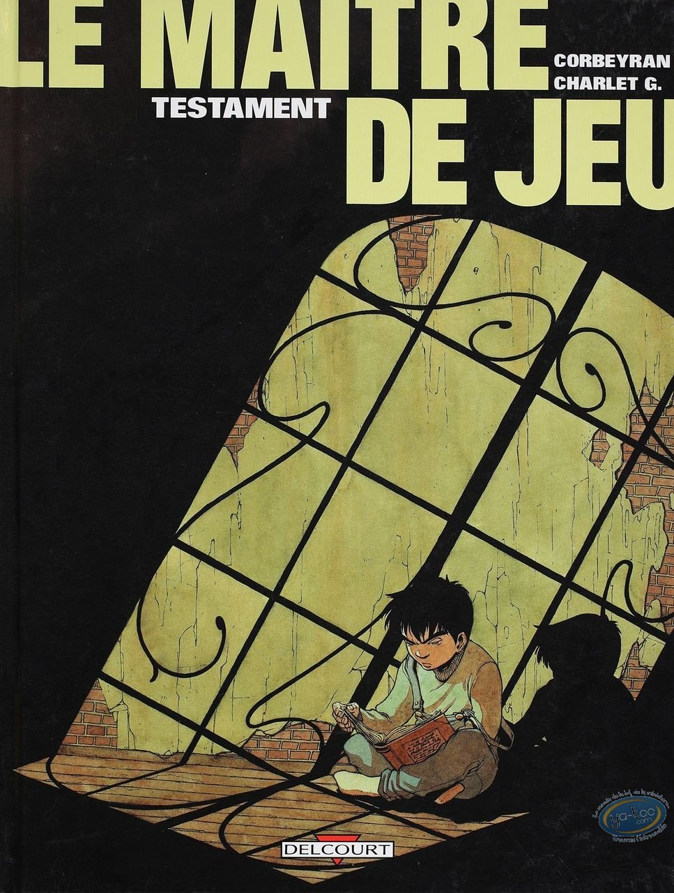 Listed European Comic Books, Maître de Jeu (Le) : Testament