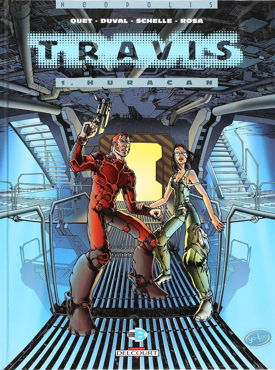Listed European Comic Books, Travis : Huracan (good condition)