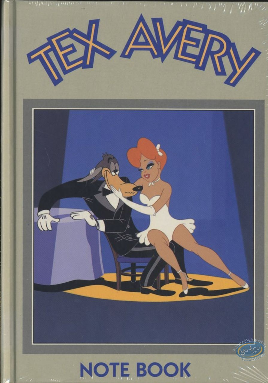 Notebook, Félix le Chat : Notebook, Tex Avery : The Wolf and The Girl (dark green)
