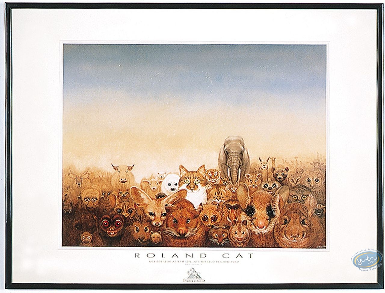 Offset Print, Roland Cat : Animals