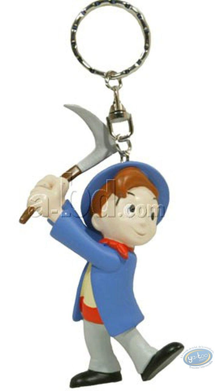 PVC Keyring, Petit Mineur (Le) : Key ring, Le Petit Mineur