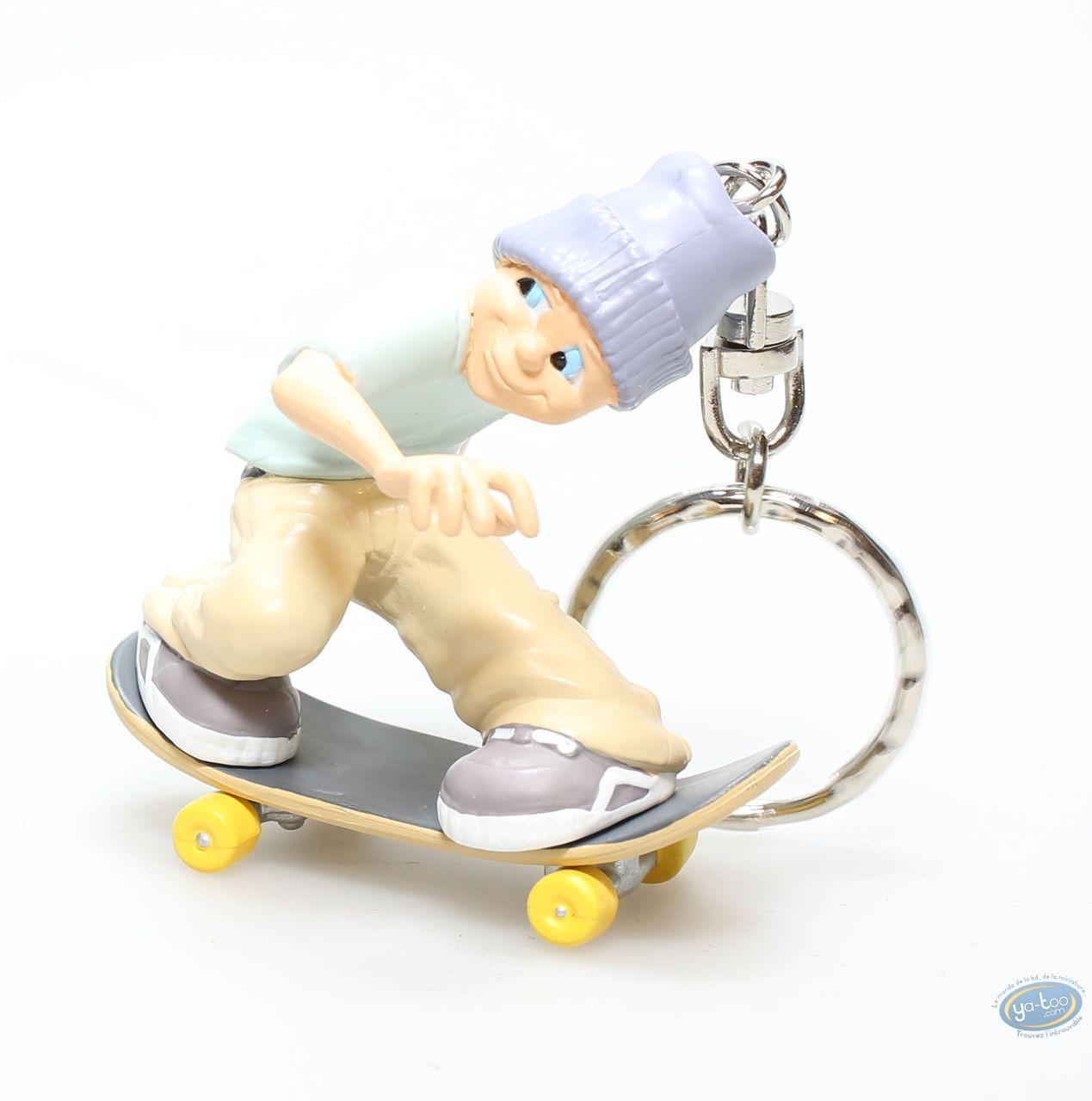 PVC Keyring, Skarla : Skateur beige trousers