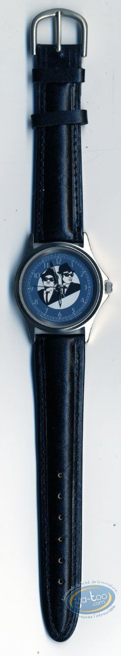 Clocks & Watches, Blues Brothers : Watch Blues brothers leather strap