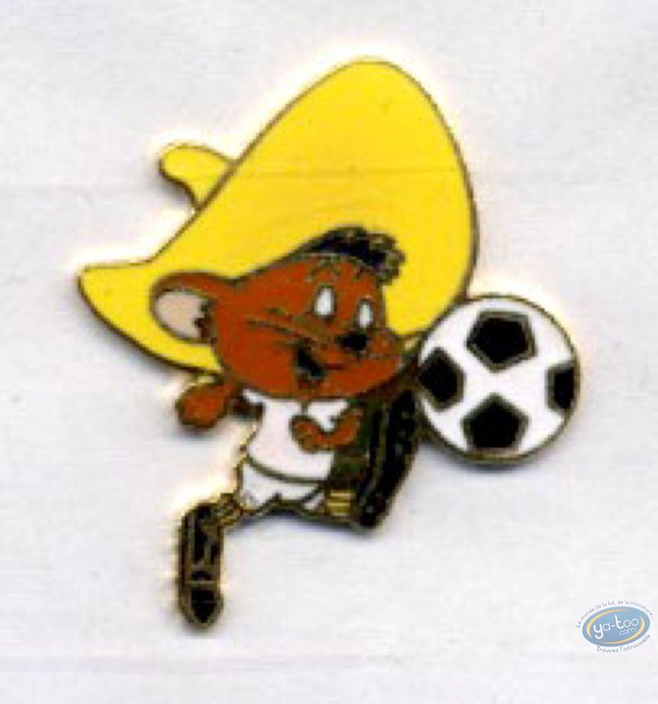 Pin's, Looney Tunes (Les) : Speedy Gonzales foot