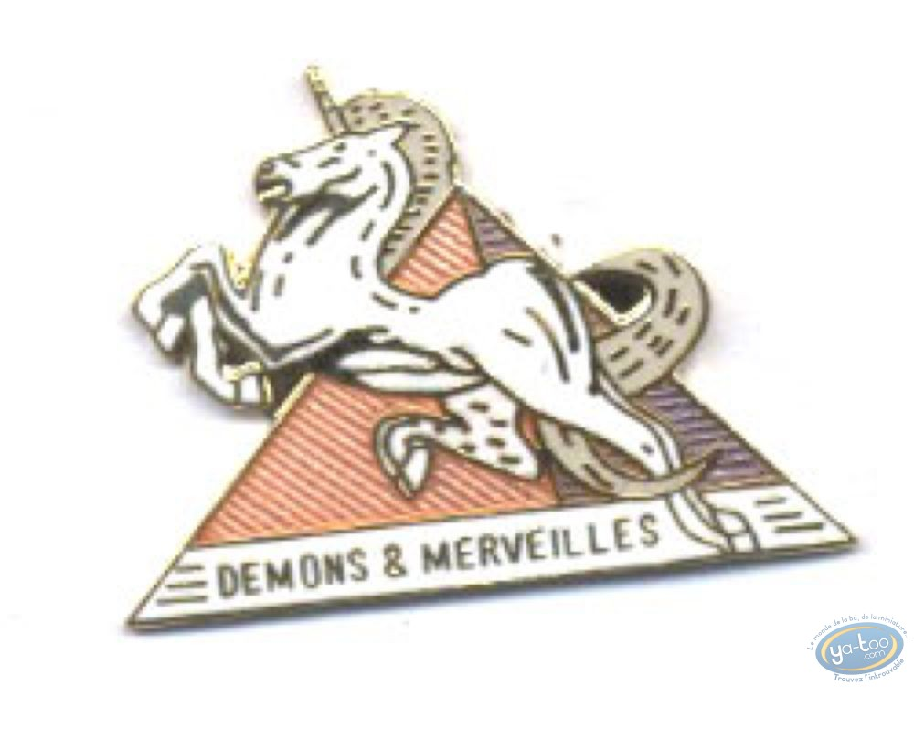 Pin's, Devils and Marvels unicorn